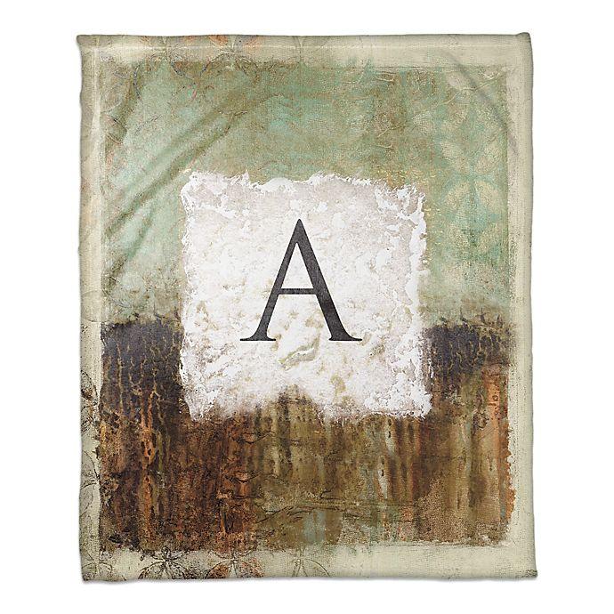 Alternate image 1 for Earth Toned Throw Blanket