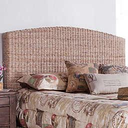 Panama Jack Driftwood Woven Headboard in Grey