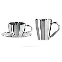 Oggi™ Ceramic and Stainless Steel Serveware Collection
