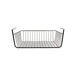 Home Basics® Under Shelf Wire Basket in Onyx