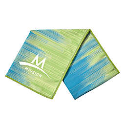 Mission EndurCool™ Instant Cooling City Scape Towel in Teal