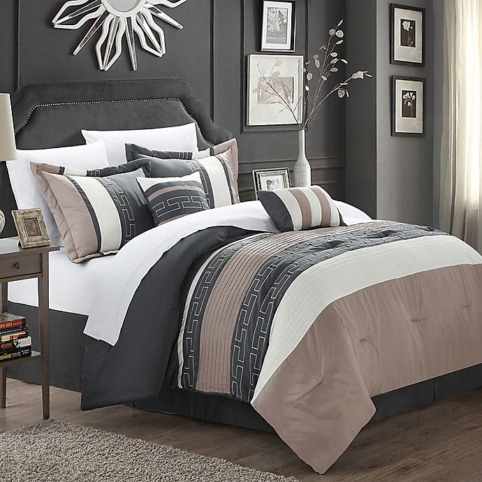 Alternate image 1 for Chic Home Coralie 6-Piece Comforter Set