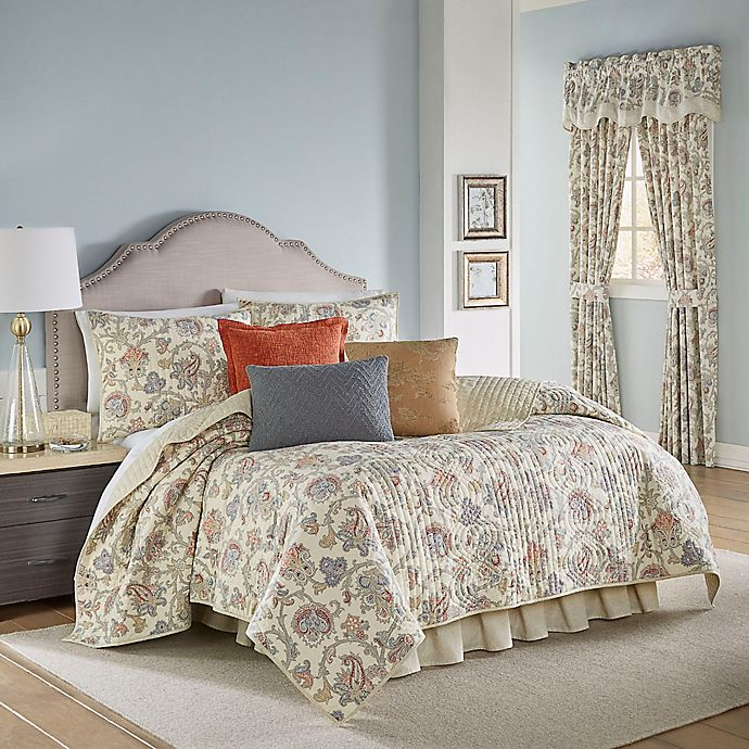 Alternate image 1 for Waverly® Arezzo 4-Piece Reversible Quilt Set