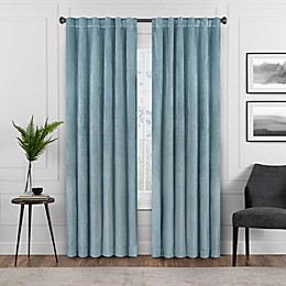 Eclipse Harper Rod Pocket Blackout Window Curtain Panel