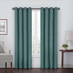 Eclipse Gemini Grommet Blackout Window Curtain Panel