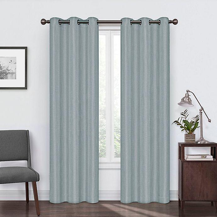Alternate image 1 for Eclipse Reagan Grommet Room Darkening Window Curtain Panel