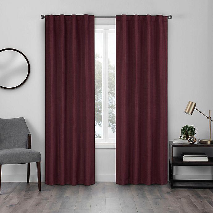 Alternate image 1 for Eclipse Walken 108-Inch Rod Pocket Room Darkening Window Curtain Panel in Port