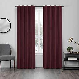 Eclipse Walken 108-Inch Rod Pocket Room Darkening Window Curtain Panel in Port