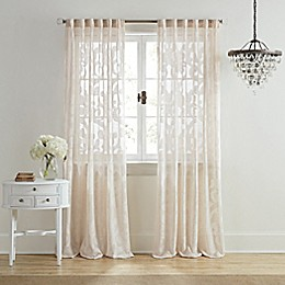 Wamsutta® Vintage Ellesmere Rod Pocket/Back Tab Window Curtain Panel