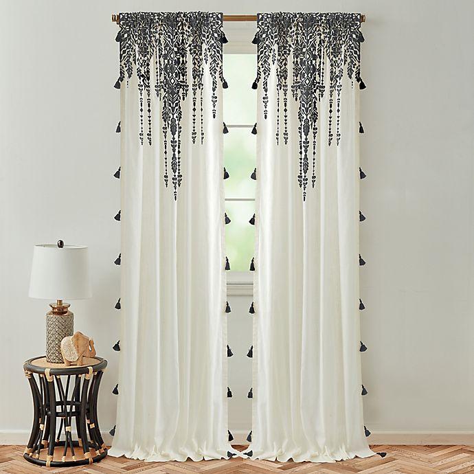 Alternate image 1 for Global Caravan Marrakech Rod Pocket Light Filtering Window Curtain Panel