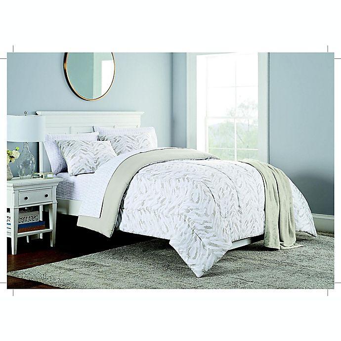 Alternate image 1 for Zebra 6-Piece Twin/Twin XL Comforter Set in Neutral