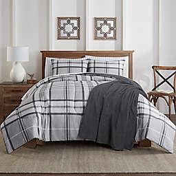 Lee 6-Piece Twin/Twin XL Comforter Set in Grey
