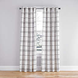 Simply Essential™ Altura Windowpane Grommet Window Curtain Panel (Single)