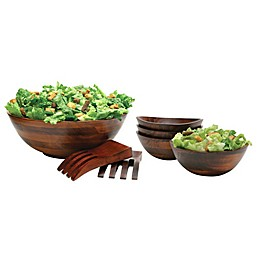 Lipper Cherry Wood Serveware Collection