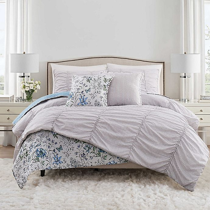 Alternate image 1 for Isaac Mizrahi Home Polly Bedding Collection