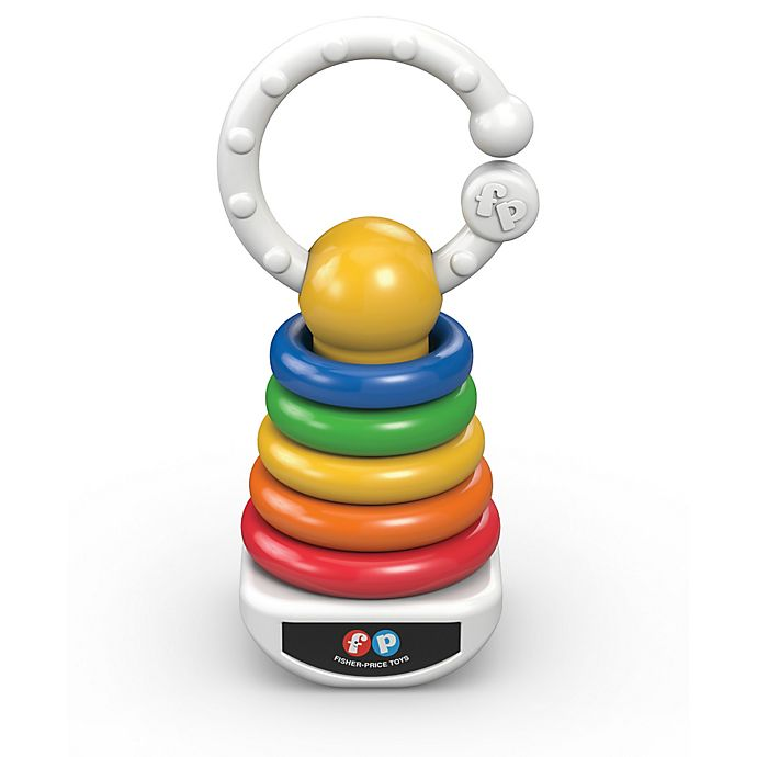 Alternate image 1 for Fisher-Price® Rock-A-Stack® Clacker