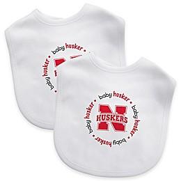 NCAA University of Nebraska 2-Pack Infant Bib