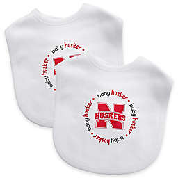 NCAA University of Nebraska 2-Pack Infant Bib