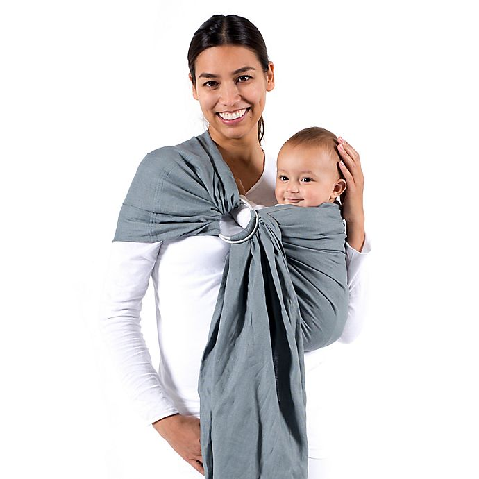 Alternate image 1 for Beco Ring Sling Baby Carrier in Cloud