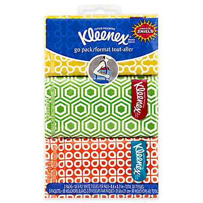 Kleenex® 3-Count Pocket Pack Tissues