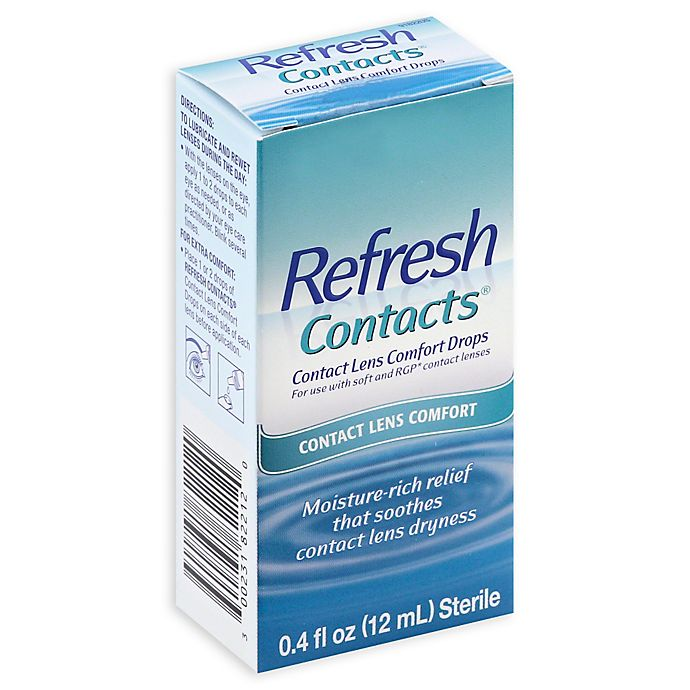 Alternate image 1 for Refresh Contacts® .4 oz. Contact Lens Comfort Drops