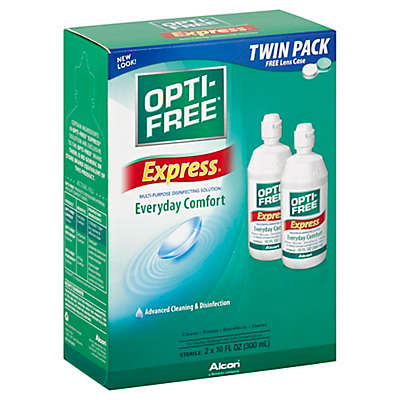 Opti-Free® Express 2-Count Multi-purpose Disinfecting Solution