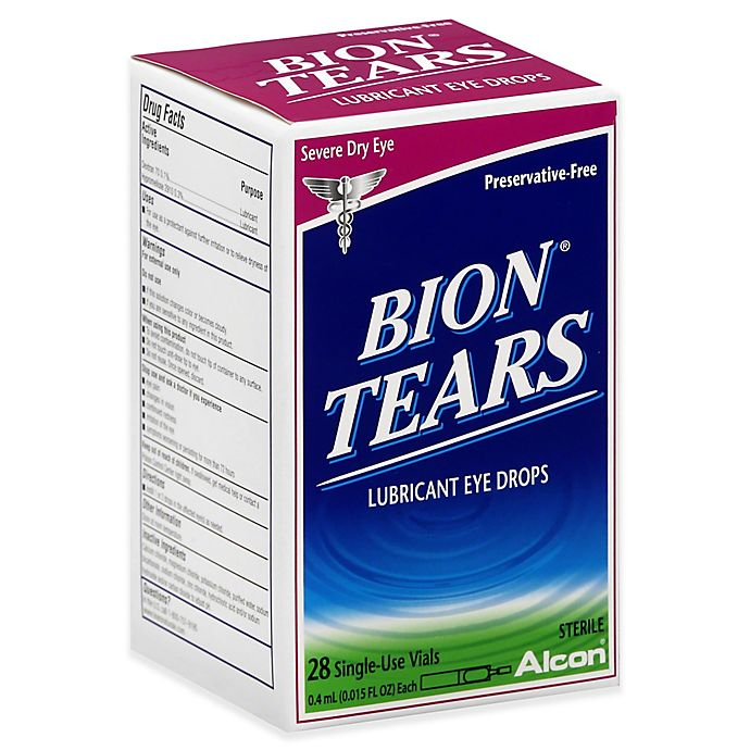 Alternate image 1 for Bion® Tears 28-Count Lubricant Eye Drops