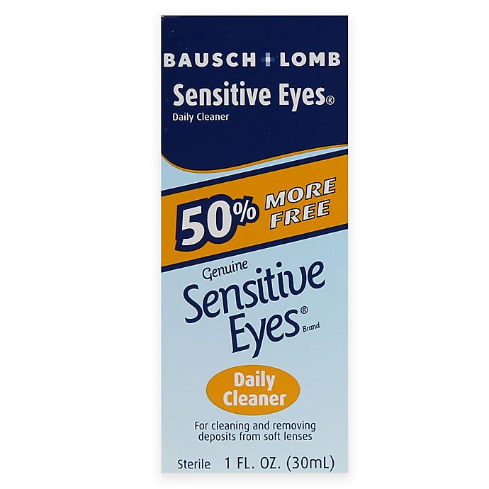 Alternate image 1 for Bausch + Lomb Sensitive® 1 oz. Eyes Daily Cleaner