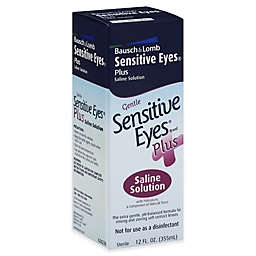 Bausch + Lomb Sensitive® 12 oz. Eyes Plus Saline