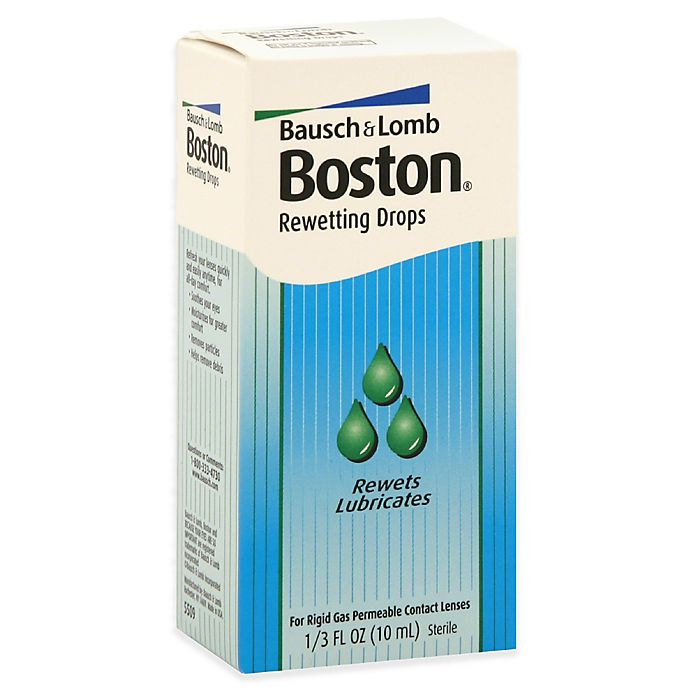 Alternate image 1 for Bausch + Lomb Boston® .33 Rewetting Solution