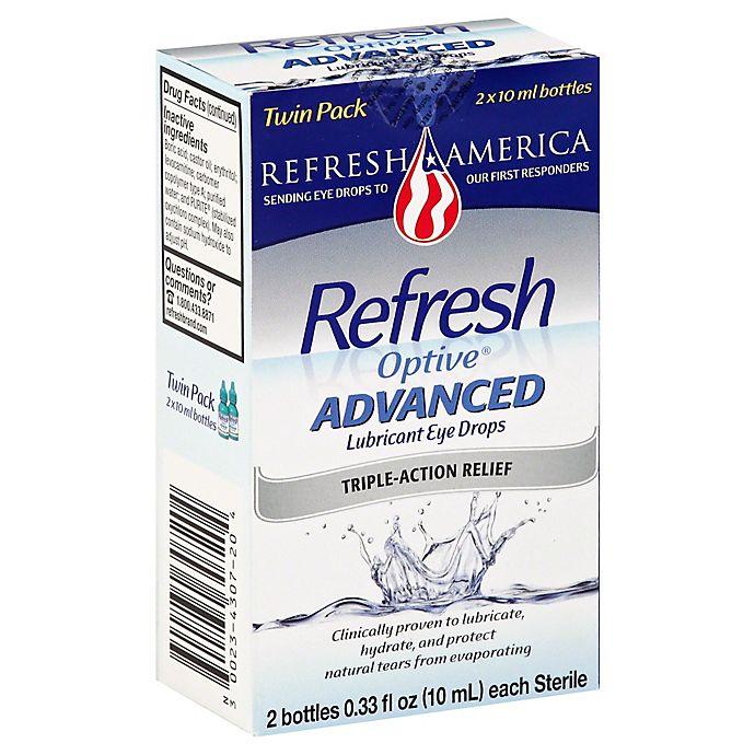 Alternate image 1 for Refresh Optive® Advanced .66 oz. Lubricant Eye Drops