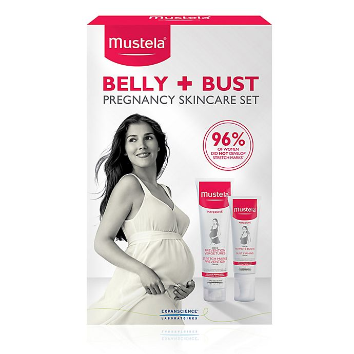 Mustela Maternity Belly And Bust Pregnancy Skincare Set Buybuy Baby