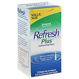 Allergan Refresh® Plus 70-Count Lubricant Eye Drops