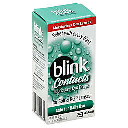 Amo Blink Contacts .34 oz. Lens Drops for Soft and RGP Lenses