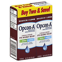 Bausch + Lomb Opcon-A®  2-Count Eye Allergy Relief Drops