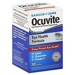 Bausch + Lomb 30-Count Ocuvite Soft Gels