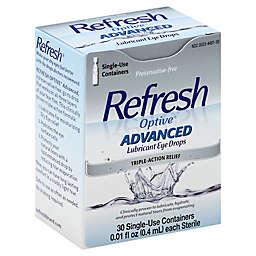 Refresh Optive® Advanced 30-Count Lubricant Eye Drops