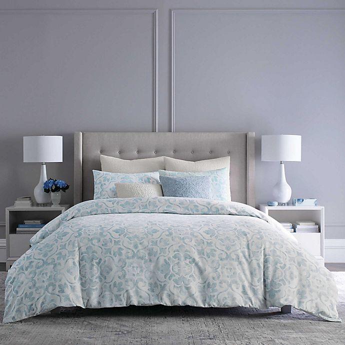 Alternate image 1 for Wamsutta® Camden Square Throw Pillow in Blue