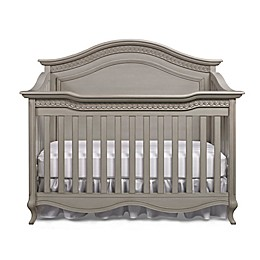 Bel Amore Lyla Rose 4-in-1 Convertible Crib in Saddle Grey