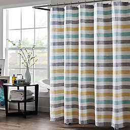 Greta 72 Inch X 96 Extra Long Shower Curtain