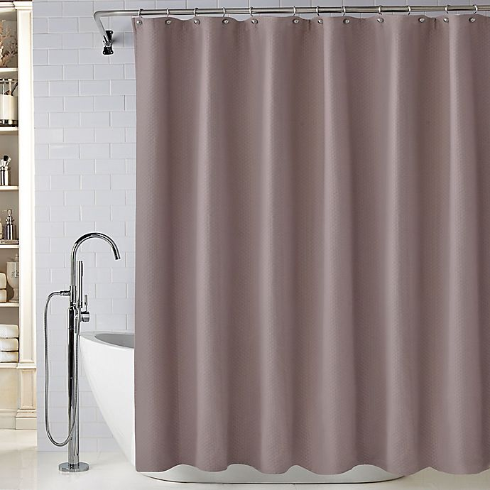 Alternate image 1 for Wamsutta Diamond Matelasse Shower Curtain