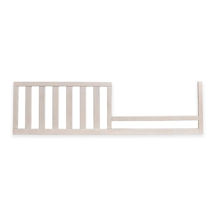 Alternate image 1 for Bel Amore Lyla Rose Toddler Guard Rail  in White Willow