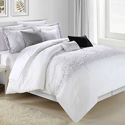 Chic Home Gracia 12-Piece Comforter Set in White