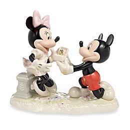 Lenox® Disney Mickey and Minnie Proposal Sculpture