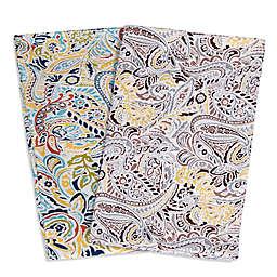 Tribeca Living Fiji 300-Thread-Count Premium Cotton Deep Pocket Sheet Set