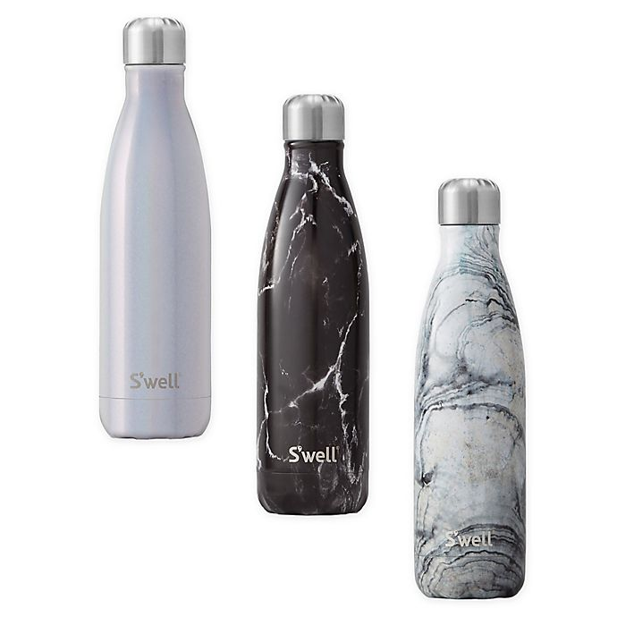 Alternate image 1 for S'well 17 oz. Stainless Steel Water Bottle Collection