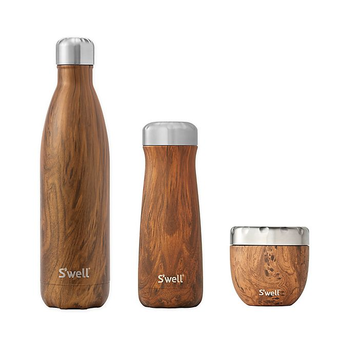 Alternate image 1 for S'well® Teakwood Drinkware Collection