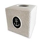 Nautilus Resin Boutique Tissue Box Cover