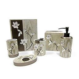 Croscill® Magnolia Floral Bath Accessory Collection