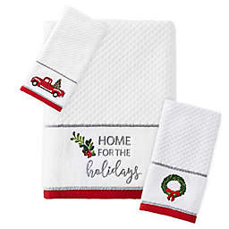 Holiday Trucks Bath Towel Collection